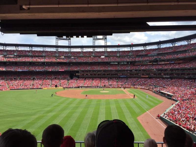 Seating view for Busch Stadium Section LP3 Row 4 Seat 14
