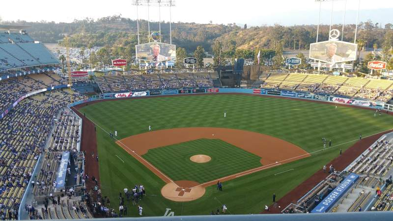 Seating view for Dodger Stadium Section 4TD Row A Seat 2