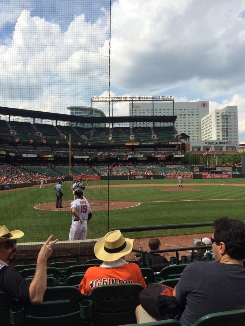 Seating view for Oriole Park at Camden Yards Section 30 Row 7 Seat 7