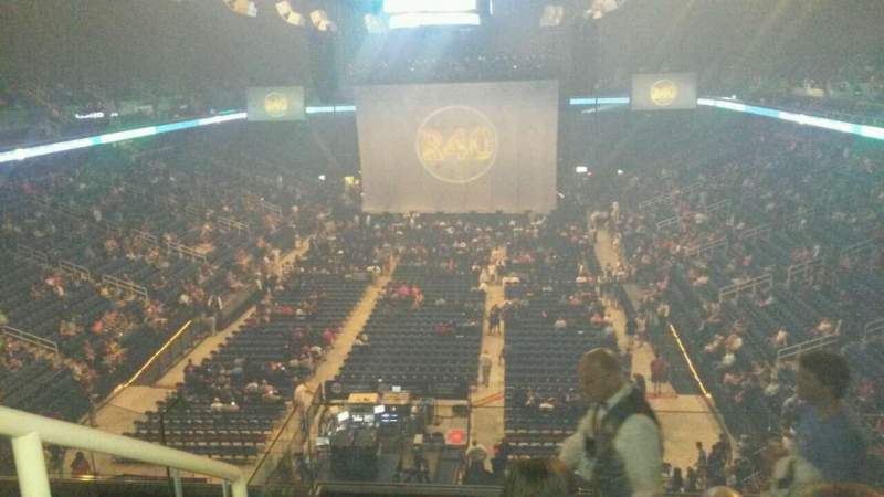 Seating view for Greensboro Coliseum Section 222 Row H Seat 14