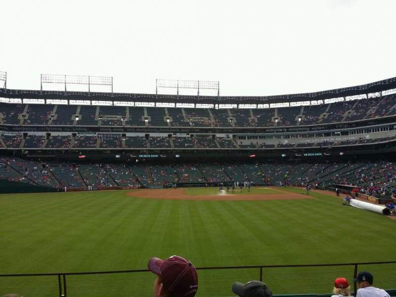 Seating view for Globe Life Park in Arlington Section 5 Row 7 Seat 15