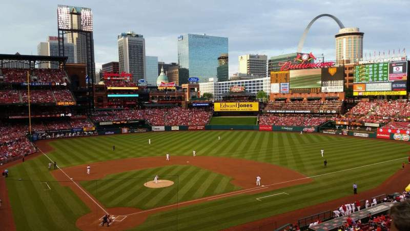 Seating view for Busch Stadium Section 248 Row 2 Seat 11