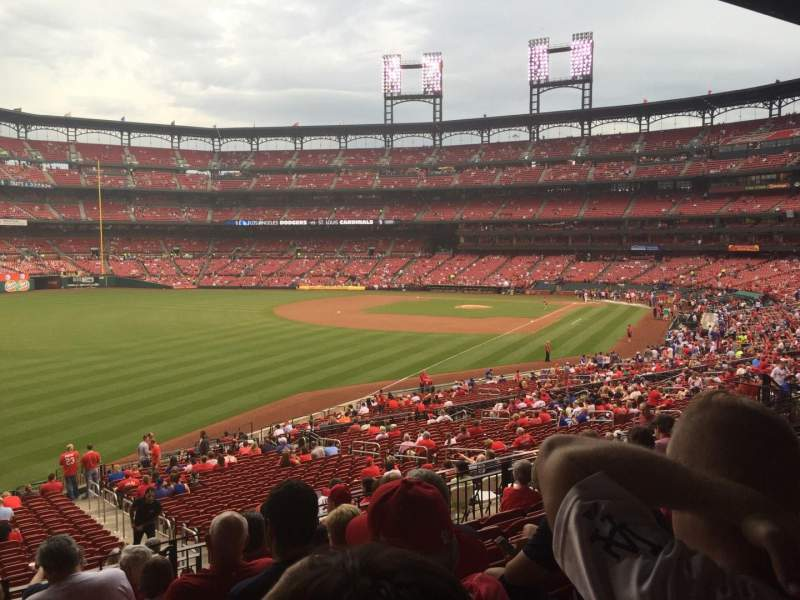Seating view for Busch Stadium Section 167 Row 26 Seat 21