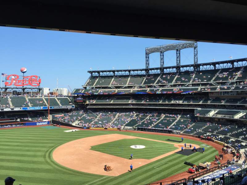 Seating view for Citi Field Section 330 Row 9 Seat 24