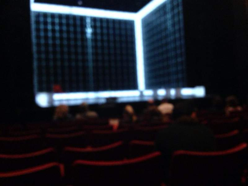 Seating view for Birmingham Hippodrome Section Stalls Row H Seat 34
