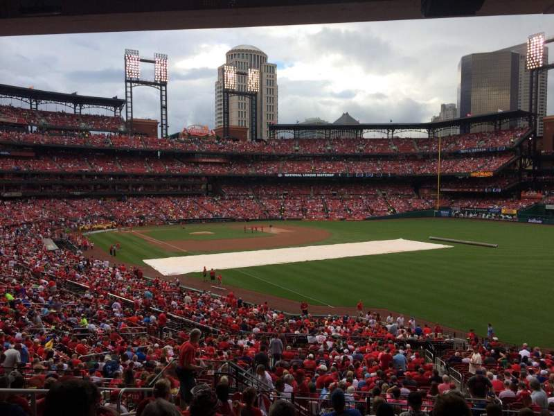 Seating view for Busch Stadium Section 132 Row 29 Seat 5