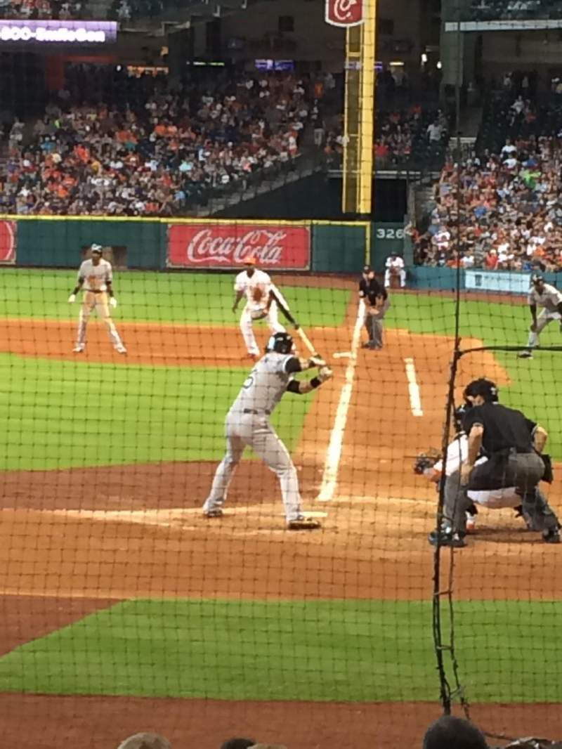 Seating view for Minute Maid Park Section 116 Row 13 Seat 12