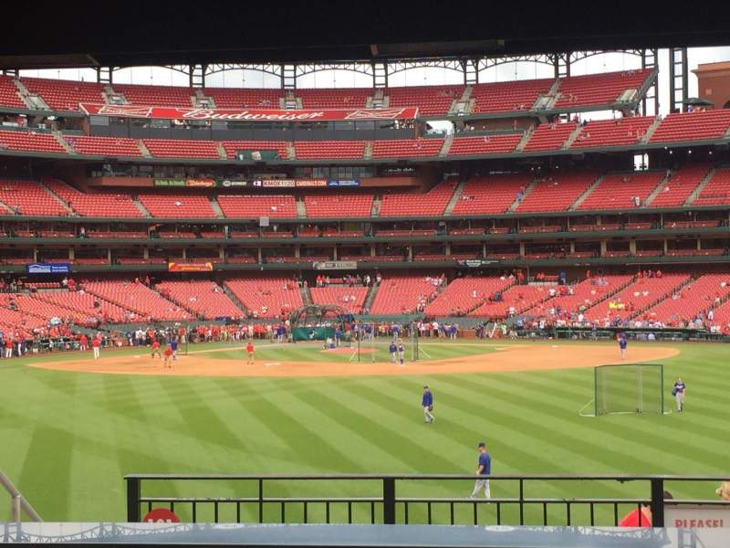 Seating view for Busch Stadium Section HLA Row B Seat 37