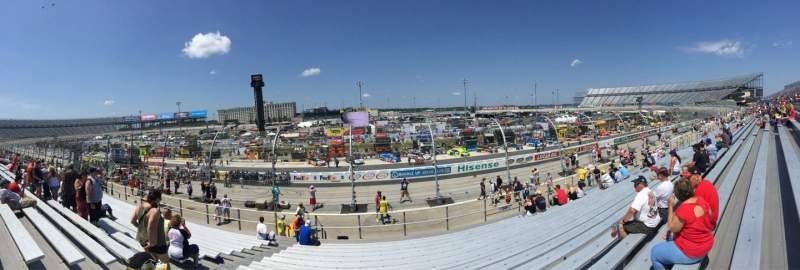 Seating view for Dover International Speedway Section 249 Row 16 Seat 23