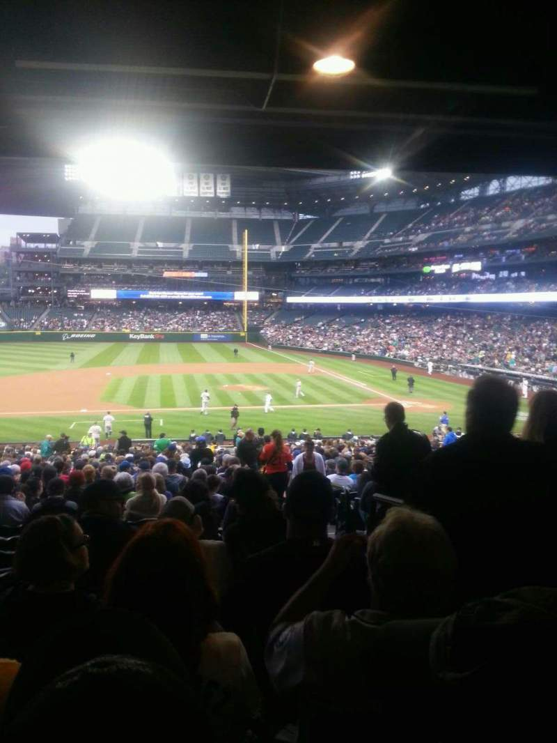 Seating view for Safeco Field Section 138 Row 40 Seat 2