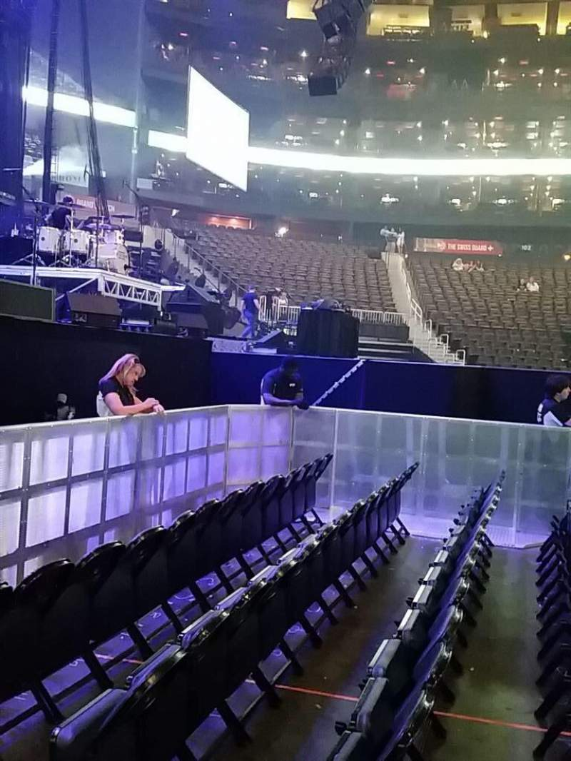 Philips Arena, section: 117, row: B, seat: 9