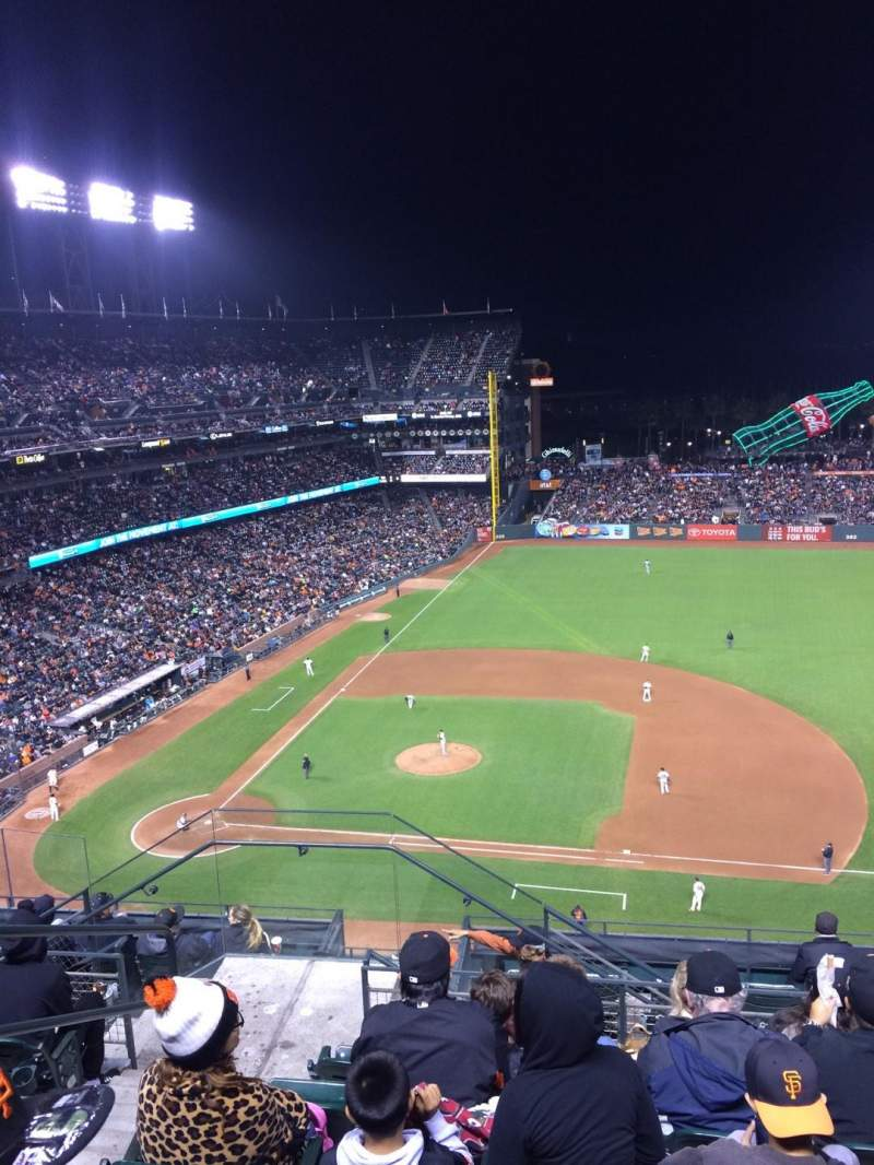 Seating view for AT&T Park Section 307 Row 6 Seat 22