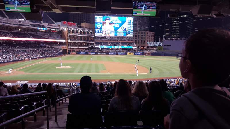 Seating view for PETCO Park Section 109 Row 41 Seat 1