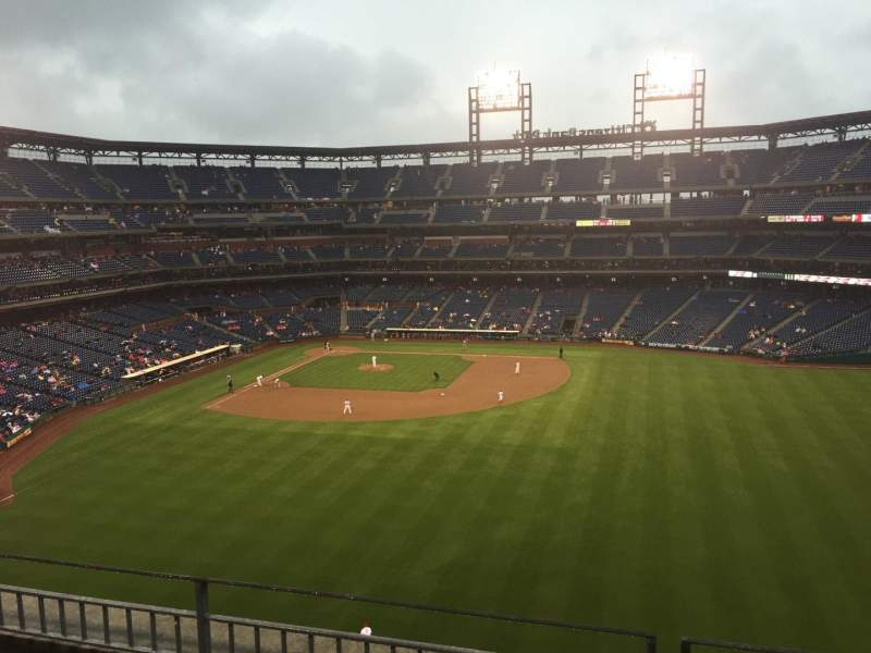 Seating view for Citizens Bank Park Section 301 Row 3 Seat 5