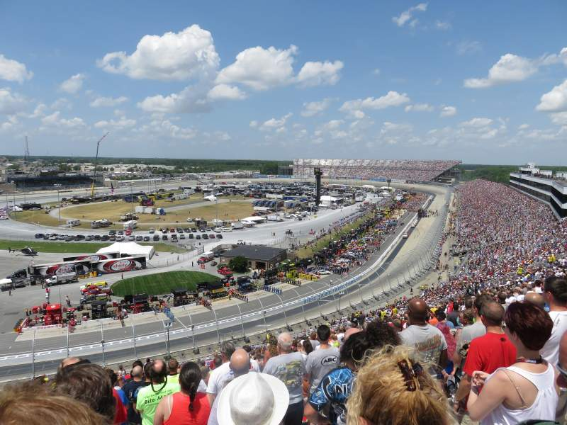 Seating view for Dover International Speedway Section 123 Row 58 Seat 23