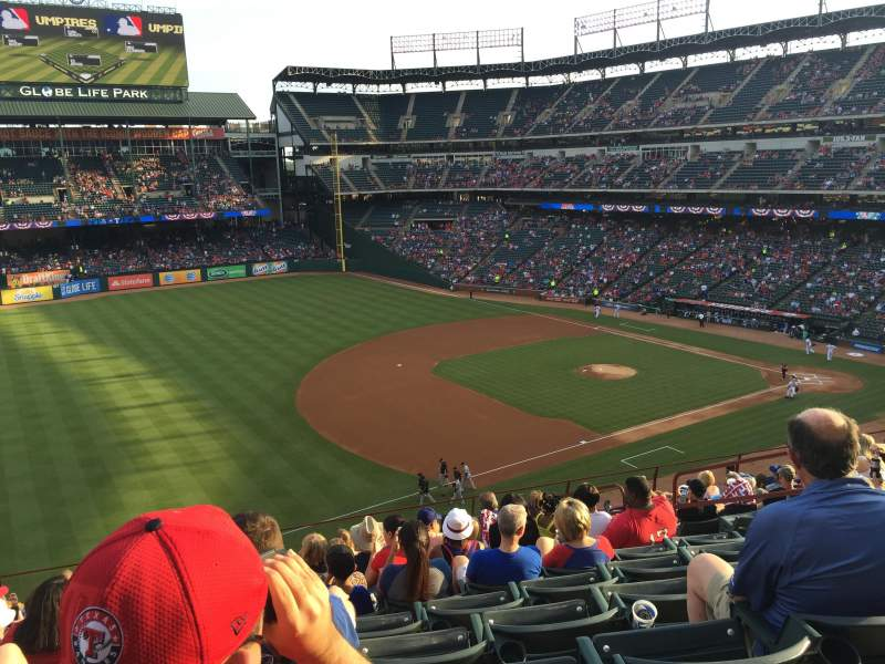 Seating view for Globe Life Park in Arlington