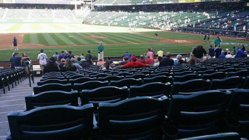 Seating view for Safeco Field Section 138 Row 23 Seat 11