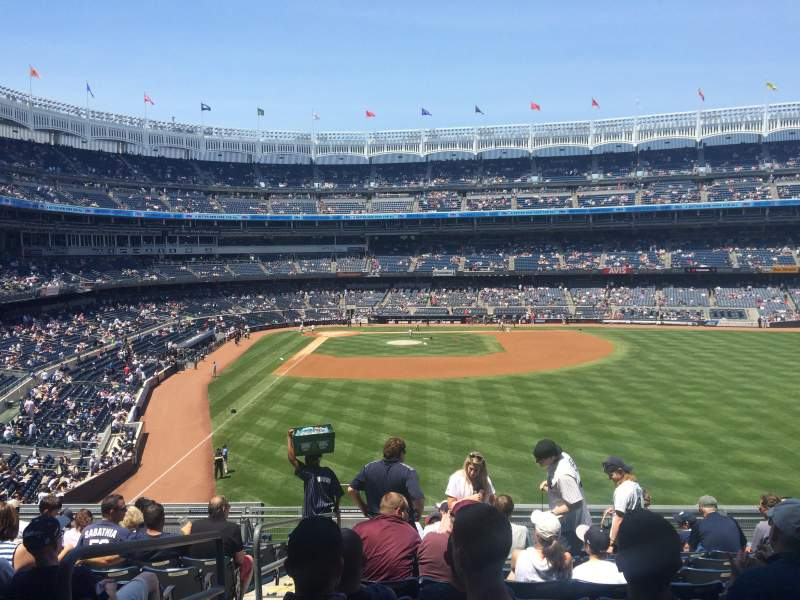 Seating view for Yankee Stadium Section 205 Row 12 Seat 24