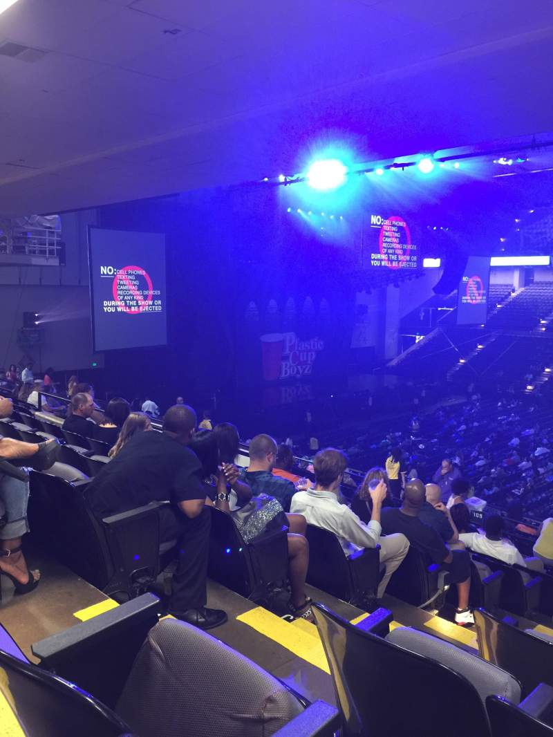 Royal Farms Arena, section: 211, row: M, seat: 9