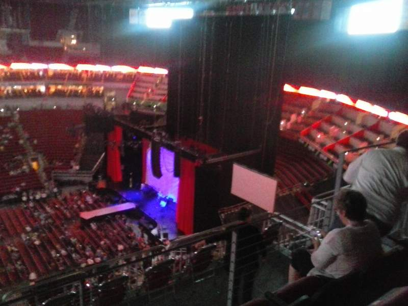 Seating view for KFC Yum! Center Section 308 Row J Seat 11