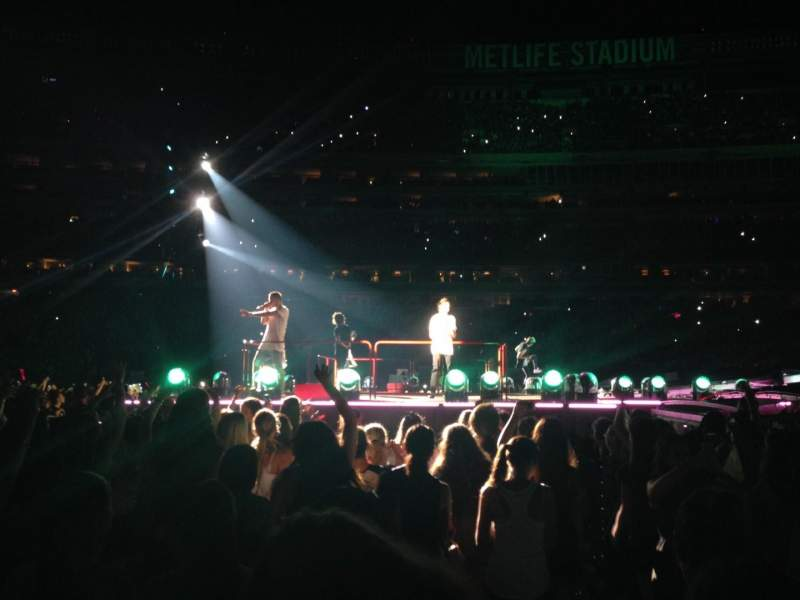 Seating view for MetLife Stadium Section 8 Row 26