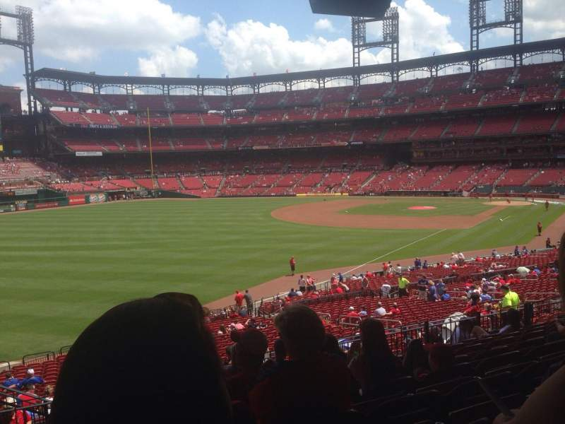 Seating view for Busch Stadium Section 167 Row 28