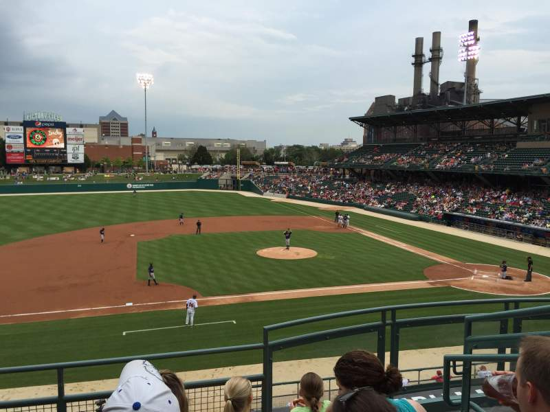 Seating view for Victory Field Section 205 Row E Seat 3