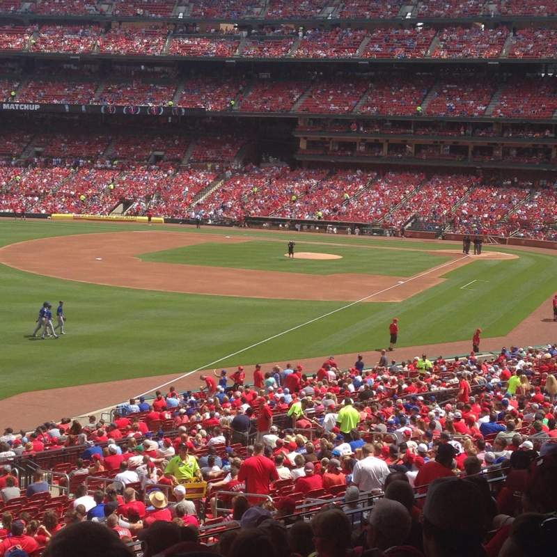 Seating view for Busch Stadium Section 167 Row 28 Seat 21
