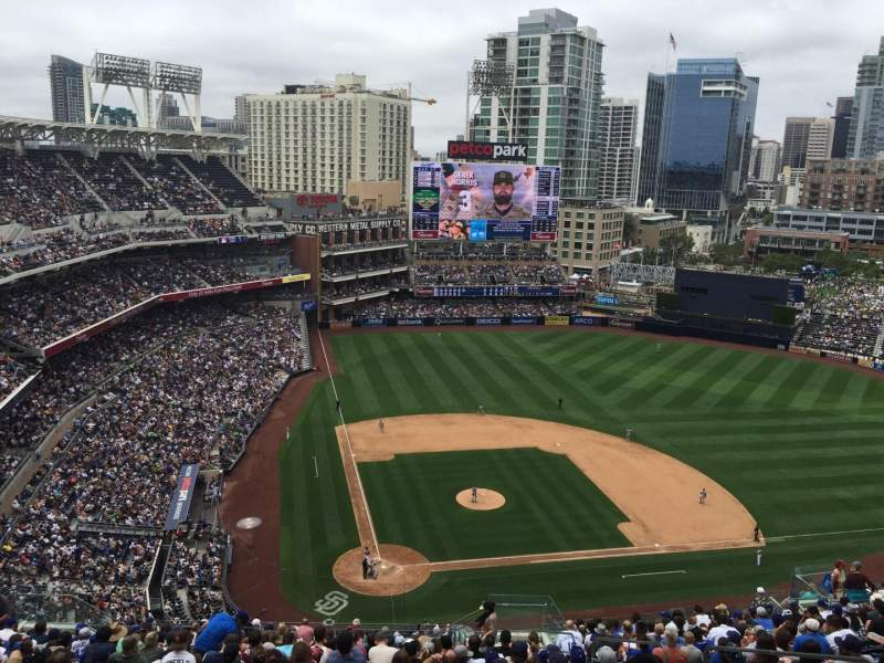 Seating view for PETCO Park Section 305 Row 27 Seat 20