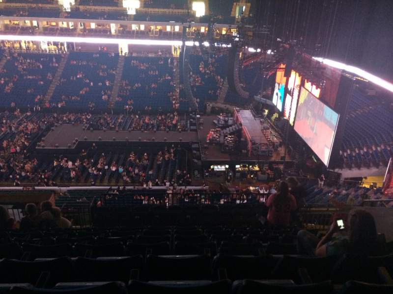 Seating view for BOK Center Section 314 Row N Seat 7