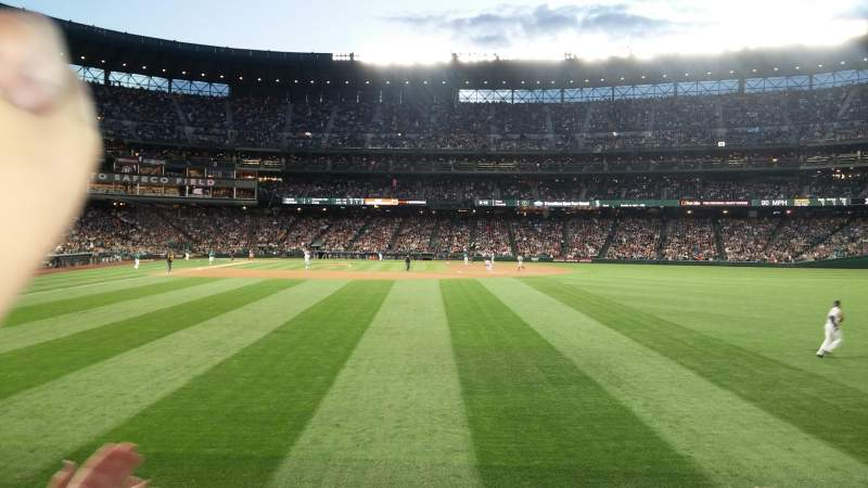 Seating view for Safeco Field Section 108 Row 25 Seat 3