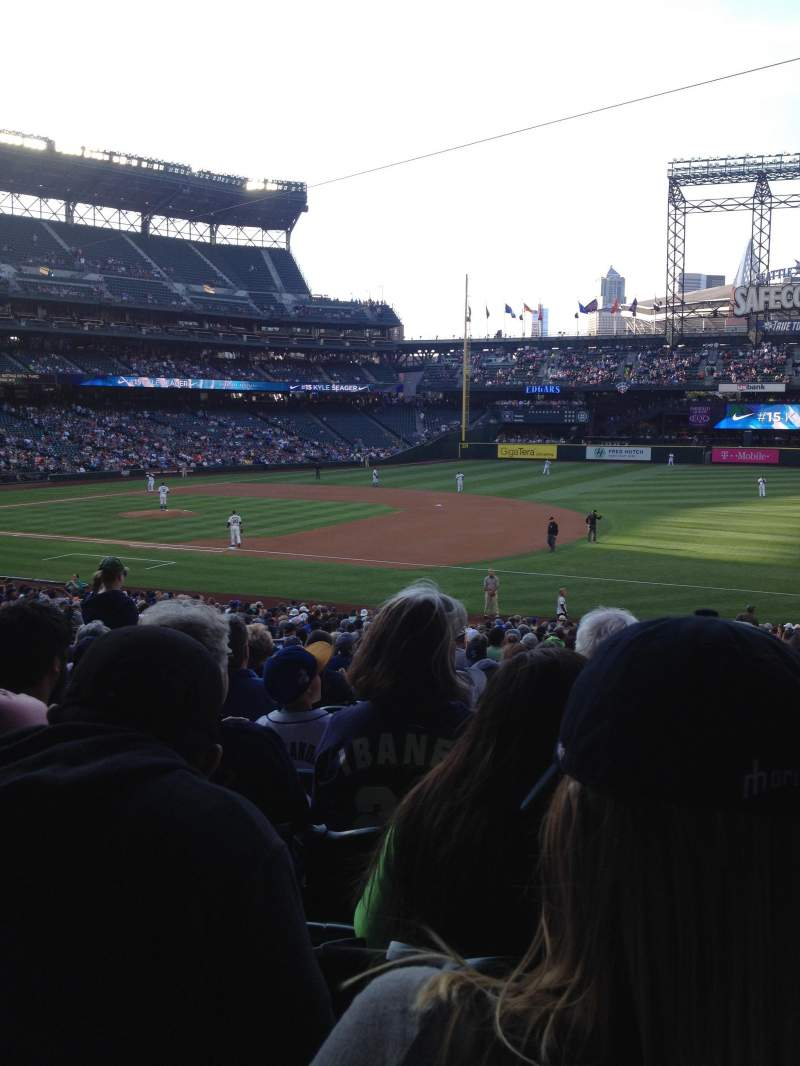 Seating view for Safeco Field Section 118 Row 36 Seat 9