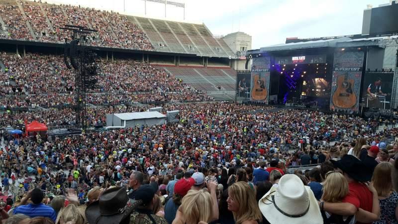 Ohio Stadium, section: 15A, row: 18, seat: 4-5
