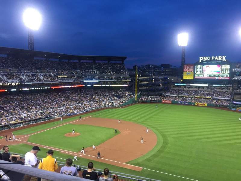 Seating view for PNC Park Section 307 Row A Seat 5