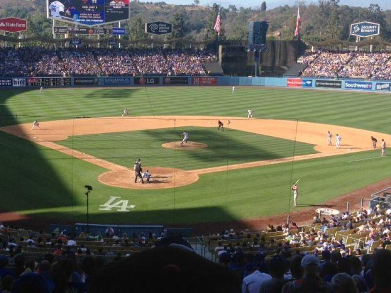 Seating view for Dodger Stadium Section 106LG Row S Seat 4