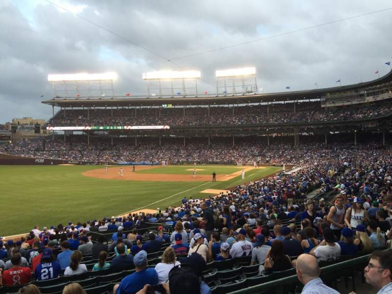 Seating view for Wrigley Field Section 202 Row K Seat 3