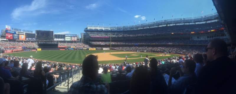Seating view for Yankee Stadium Section 126 Row 24
