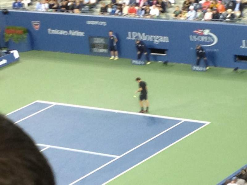 Seating view for Arthur Ashe Stadium Section 106 Row L Seat 3