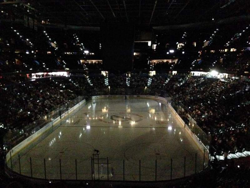 Seating view for Amalie Arena Section 208 Row E Seat 9