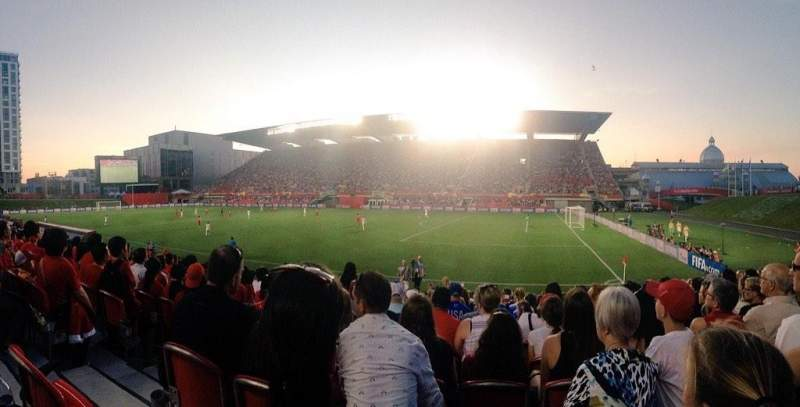 TD Place Stadium, section: n, row: 15, seat: 20
