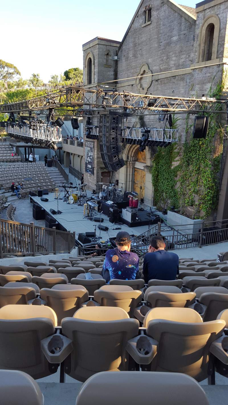 Seating view for Mountain Winery Section 21 Row K Seat 11 and 12