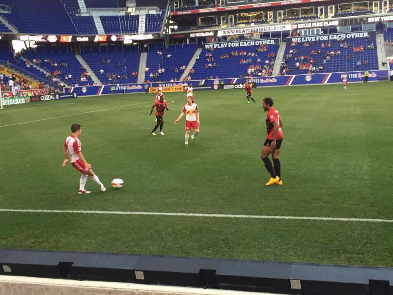 Seating view for Red Bull Arena Section 128