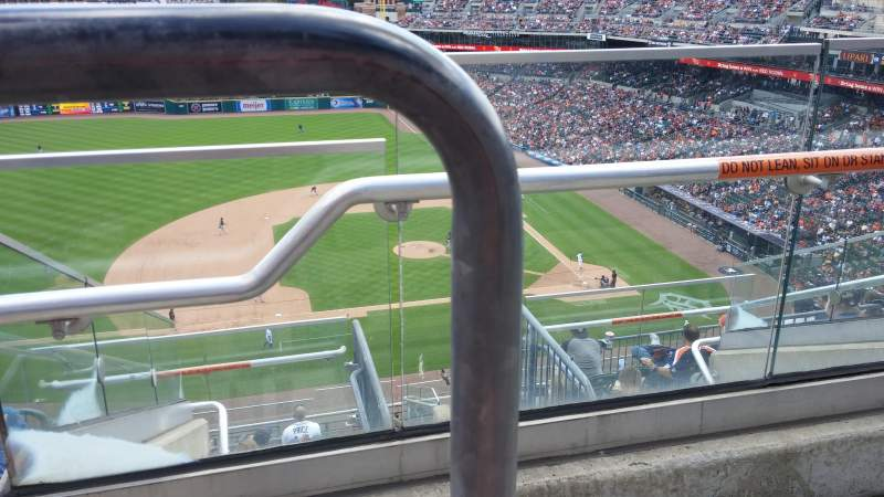 Seating view for Comerica Park Section 334 Row 6am Seat 1