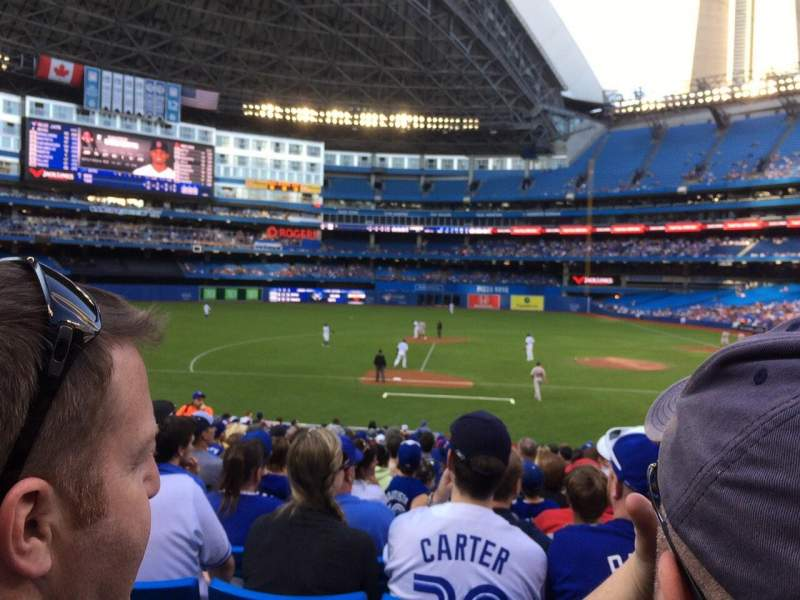 Seating view for Rogers Centre Section 126R Row 22 Seat 111