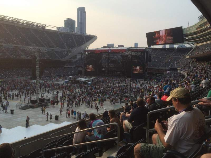 Seating view for Soldier Field Section 215 Row 9 Seat 6