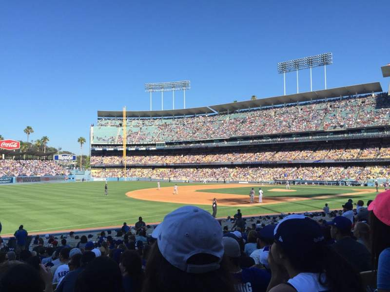 Seating view for Dodger Stadium Section 37fd Row R Seat 8
