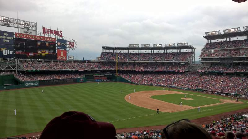 Seating view for Nationals Park Section 204 Row L Seat 17