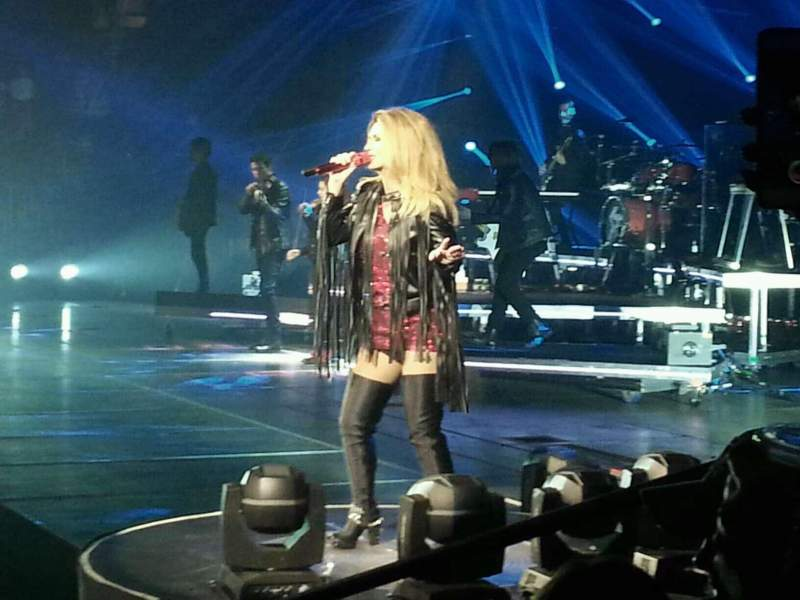 Madison Square Garden, section: 108, row: 4, seat: 20