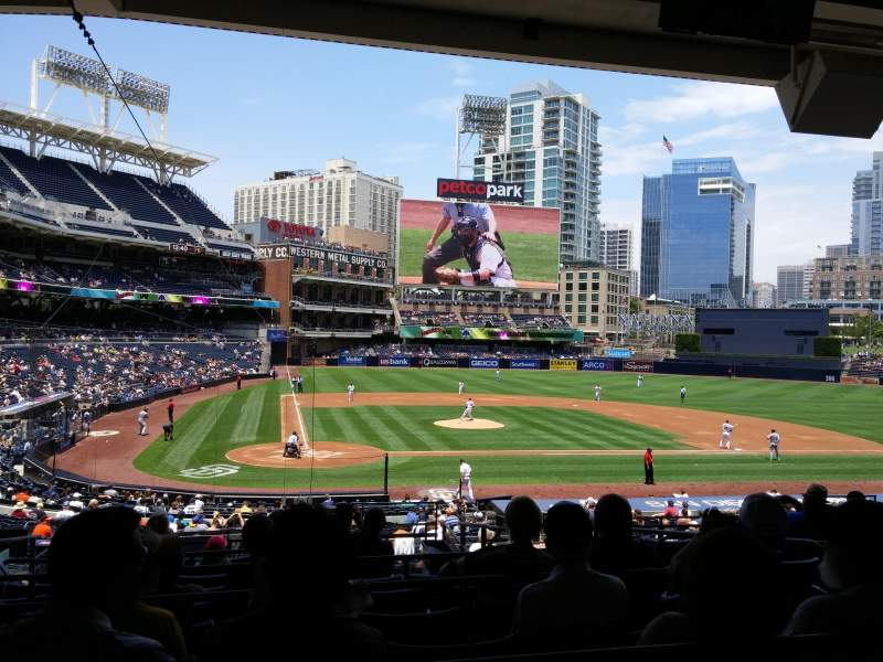 PETCO Park, section: K, row: 11, seat: 6