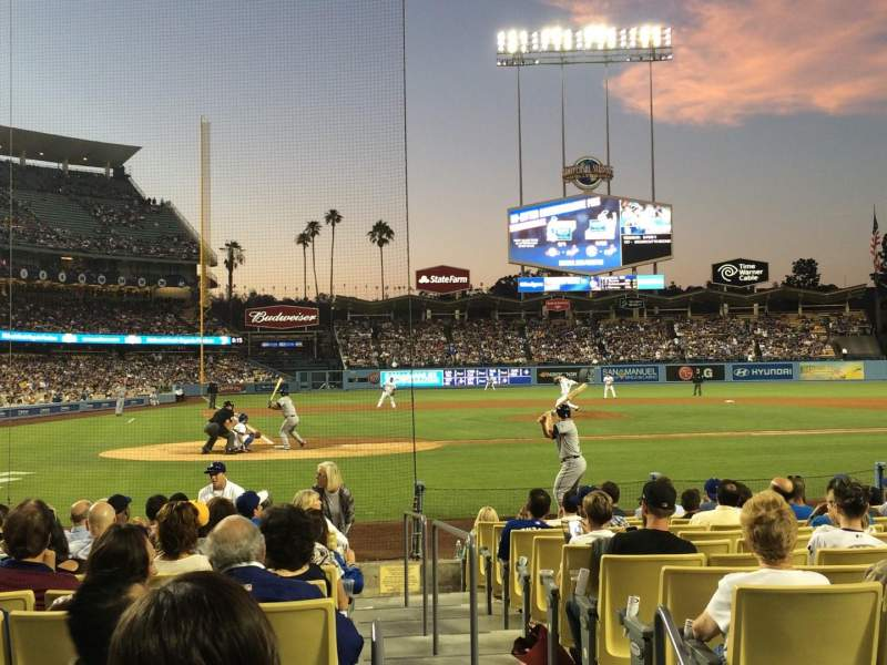 Seating view for Dodger Stadium Section 8FD Row C Seat 9
